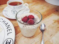 Overnight oats with Oatly oat drink