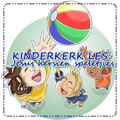 Kinderkerk les: Jesus hersien speletjies Wow Video, Sunday School Teacher, Youth Ministry, Praise And Worship, Teaching Kids, Words, Videos, Horse, Kids Learning