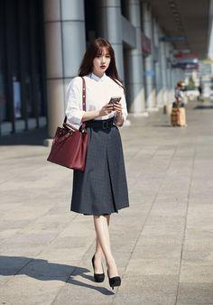 Korean Airport Fashion Yoon Eun Hye