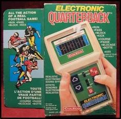 1970's toys - My First Video Game..ha..how I learned the rules of football :)