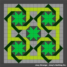 5 Stars Quilt Pattern