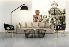 Fototapete Versammlung der Roboter von K&L Wall Art   wall-art.de Online Shop