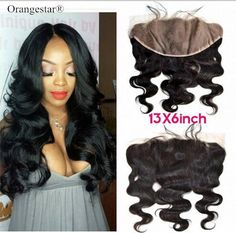 13x6 Lace Frontal Raw Brazilian Body Wave Unprocessed Remy VirginHair Extensions #Orangestar #13x6lacefrontalclosure