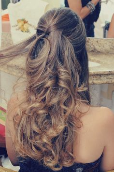 Madrinhas de casamento: Penteado de festa