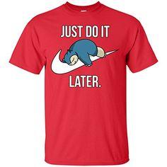 d606851783ac4 Just Do It Later T-Shirt T-Shirts Tshirt Tshirts – Pokemon Tshirt for Men