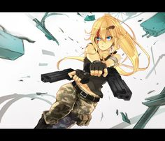 anime art :: greatest anime pictures and arts / funny pictures & best jokes: comics, images, video, humor, gif animation - i lol'd Art Anime, Anime Kunst, Manga Girl, Fairy Tail Books, Fille Blonde Anime, Blondes Anime Girl, Anime Triste, Anime Military, Character Illustration