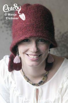 CraSy, Kopf und Kragen - Sylvie Rasch - Modell Clarine Bucket Hat, Fashion, Man Scarf, Headboard Cover, Men And Women, Scarves, Scale Model, Women's, Moda