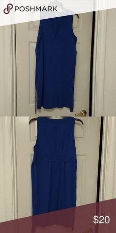 J Crew Blue Dress J Crew Royal Blue Dress. Super cute and in perfect condition. J. Crew Dresses Midi