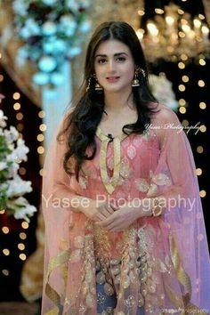 pakistani traditional dresses P & J Emporium Pakistani Wedding Outfits, Pakistani Girl, Pakistani Actress, Pakistani Dresses, Indian Dresses, Hira Mani, Pakistan Wedding, Indian Designer Wear, Trendy Dresses