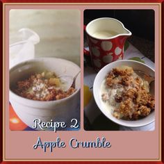 Every time I opened my paternal grandmothers fridge when I was a child there was a Apple Crumble in it, so of course I learnt to make it and I like to think it was pretty good, but this recipe beats all......it's all about the crumble
