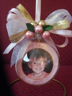 Handcrafted ornament for all occasions Personalized Photo Ornaments, Beautiful Gifts, Christmas Bulbs, Holiday Decor, Christmas Light Bulbs