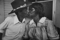 The Kiss, 3rd Ward, Houston, TX, 1989  Earlie Hudnall Jr.