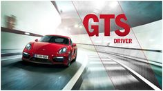 Cayman GTS Driver, the online game in which you can experience the new Porsche Cayman GTS as a test driver.