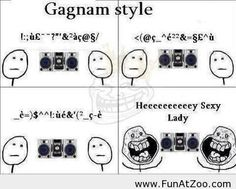 Gagnam style Funny picture