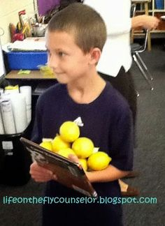 Life on the Fly.... A School Counselor Blog: Perseverance: Turn Those Lemons into Lemonade!