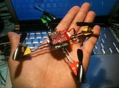 Building a palm size quad-copter Check out http://arduinohq.com for cool new arduino stuff!