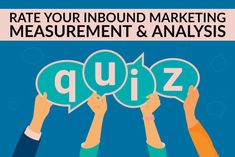 Rate Your Inbound Marketing Measurement & Analysis Practices Answer 5 quick questions to see where the opportunities exist for improving your marketing analysis in order to further improve your inbound marketing strategy. Inbound Marketing, Digital Marketing, Improve Yourself, This Or That Questions, Business, Store, Business Illustration
