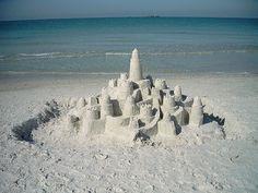 Sand Castle by huneebuns92, via Flickr