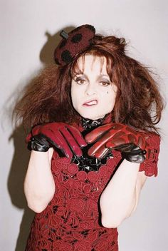 Helena Bonham Carter for Marc Jacobs FW11