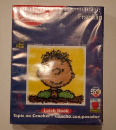 Peanuts Pig Pen Latch Hook Kit Peanuts Latchhook Peanuts