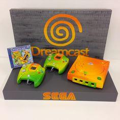 Jet Set Radio, Custom Consoles, Sega Dreamcast, Zelda, Retro Gamer, Gamers, Gamer Gifts, Dream Catcher, Diy