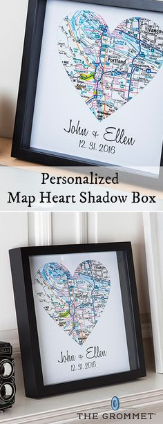 Put a personal spin on a wedding gift, graduation gift, birth, or your favorite location. Custom illustrations let you celebrate the who, when, and where. Great Valentine's Gift idea for someone special.