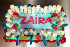 Tarta de chucherías para Zaira