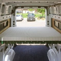 "Want to sleep sideways in a Sprinter 144""WB camper? These Sprinter Campervan Body Flares with Window Cutouts replace the rear body panels, adding extra space."