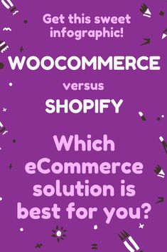 Infographic: WooCommerce versus Shopify: Which Platform Better Suits Your eCommerce Needs? …e-versus-shopify/ 