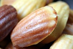 Madeleines by daveleb, via Flickr heard someone else add some fresh passionfruit to it- sounded like a good idea to me!