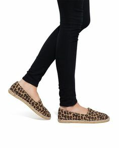Leopard Shoes, so fun for Spring!