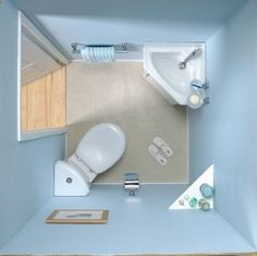 VitrA Layton Close Coupled Pan, Corner Cistern & Toilet Seat... via.. #BOARD http://www.pinterest.com/queenjean207/tiny-house-bathrooms/