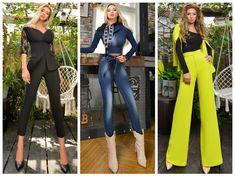 Capri Pants, Jumpsuit, Dresses, Fashion, Overalls, Vestidos, Moda, Capri Trousers, Fashion Styles