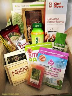 Monthly Concious Box! It's loaded with natural products and snacks. They also have gluten free and vegan boxes too! Definitely wanna try this! @Tele Barnett may also find this nifty :3