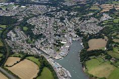 Penryn in Cornwall aerial image | by John D F #penryn #cornwall #aerial