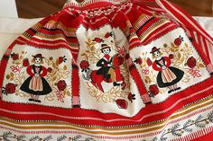 Pennsylvania Dutch apron