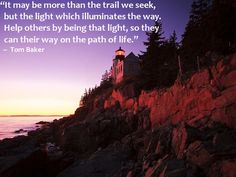 It may be more than the trail we seek