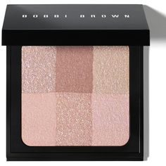 Bobbi Brown Brightening Brick/0.23 Oz. ($48) ❤ liked on Polyvore featuring beauty products, makeup, cheek makeup, cheek bronzer, beauty, filler, blush & bronzers and bobbi brown cosmetics