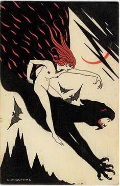 sisterwolf:  Sergei Pavlovich Lodygina - Panther  ready to strike down the man