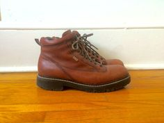 Mens 10 Johnston & Murphy Leather Boots Goretex by flickaochpojke #vintage #fashion #boots #fallfashion #menswear