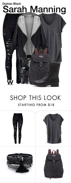 """Orphan Black"" by wearwhatyouwatch ❤ liked on Polyvore featuring television and wearwhatyouwatch"