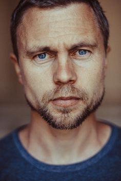 Possible story character inspiration. (Male portrait by Yevgen Romanenko)