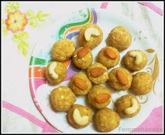 Recipe for Nutty Besan Laddoos