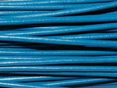 Greek Leather Cord 1.5mm - Lt Blue from Nosek's Just Gems