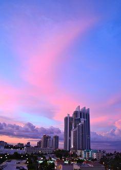 Miami. Sunset. 6.2.12