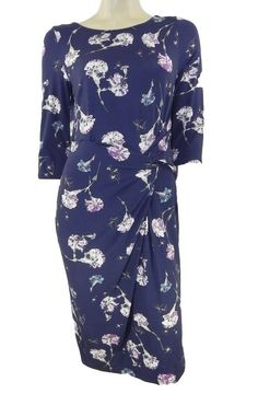 042a7b3df69 Marks+ +Spencer+Navy+ +Purple+Print+Stretchy+Shift+Dress +Org+Price+£45+-+Marks+ +Spencer+Navy+ +Purple+Print+Stretchy+Shift+Dress+Org+Price+£45  ...