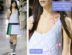 Glittery Sportswear Detailing at Miu Miu | The Cutting Class. Miu Miu, AW14, Paris, Image 7.