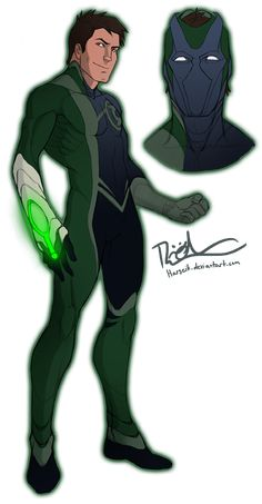 Green Lantern Redesign | I freakin' love this design