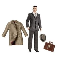 Amazon.com: Barbie Collector Mad Men Collection Don Draper Doll