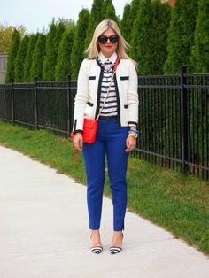 Suburban Faux-Pas: Stripes on Stripes